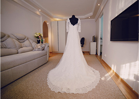 Dry cleaning cost for wedding dresses